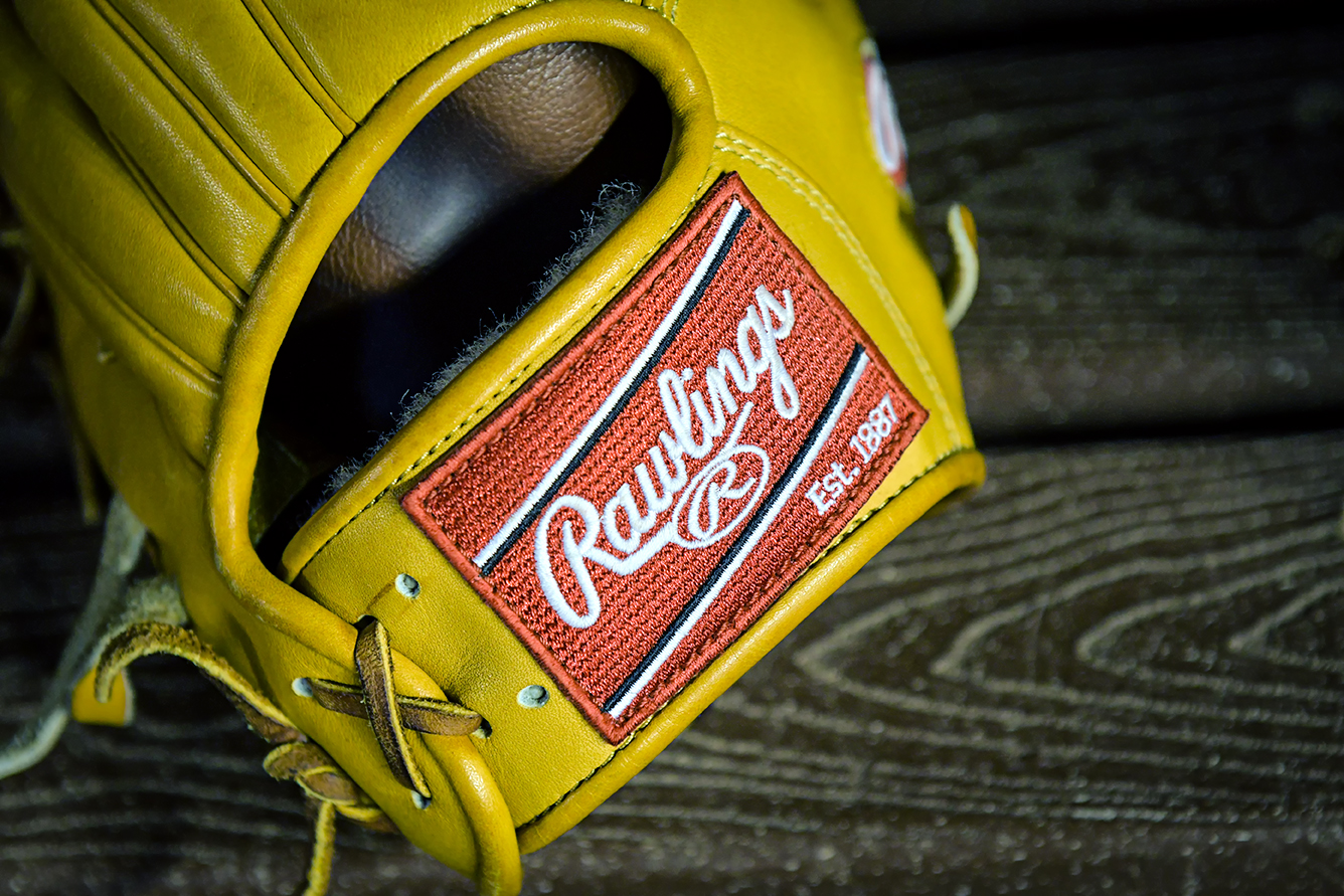 Rawlings baseball glove - Philadelphia Phillies vs. Miami Marlins at Marlins Park