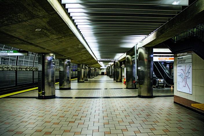 Boston Green Line stop