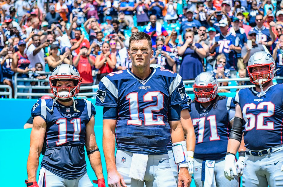 The Patriots Shut Out the Dolphins
