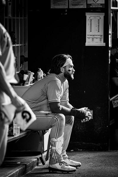 Philadelphia Phillies right fielder Bryce Harpe