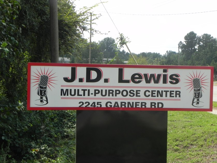 JD Lewis sign