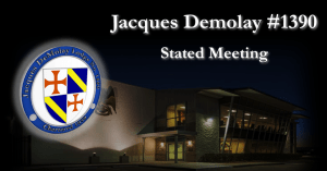 Monthly Stated Meeting @ Jacques Demolay Lodge #1390/Houston Scottish Rite Event Center