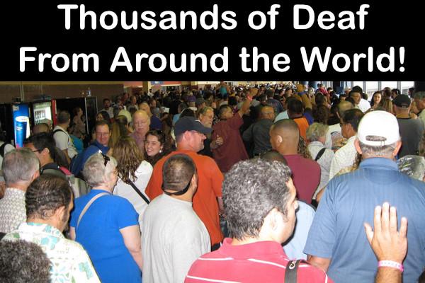 Thousands of Deaf