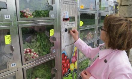 Et voici le distributeur automatique… de fruits et légumes !