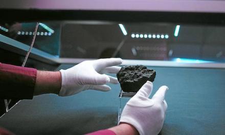 Une météorite qui fait desenvieux