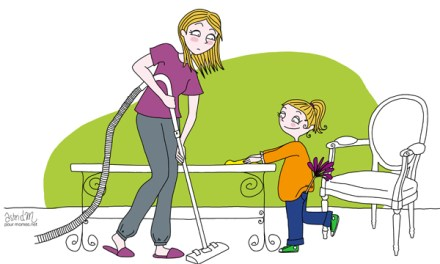 Le ménage et les enfants : sont-ils compatibles?