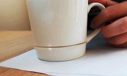 La tasse de café qui ne laisse aucune auréole sur votre bureau est née!
