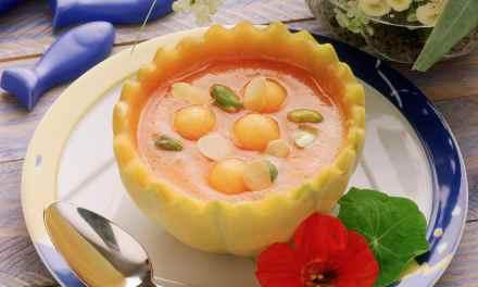Potage de melon glacé par cuisineactuelle.fr
