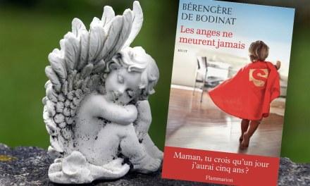 L'INTERVIEW POSITIVE D'ANNE BOUQUET: Bérangère de Bodinat – « Les anges ne meurent jamais