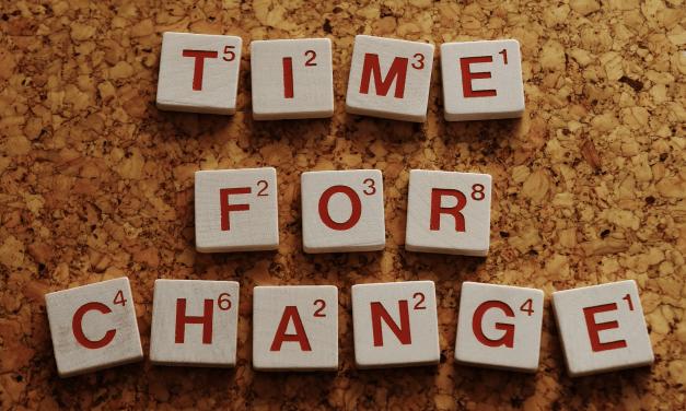Pourquoi le changement est-il nécessaire ?