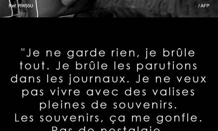Citation Mireille Darc