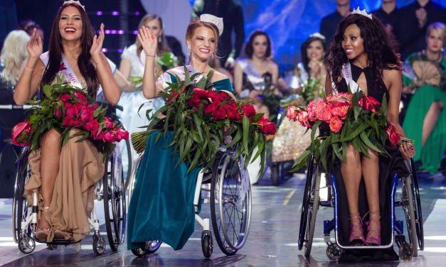 La Bélarusse Alexandra Chichikova sacrée Miss Monde en fauteuil roulant
