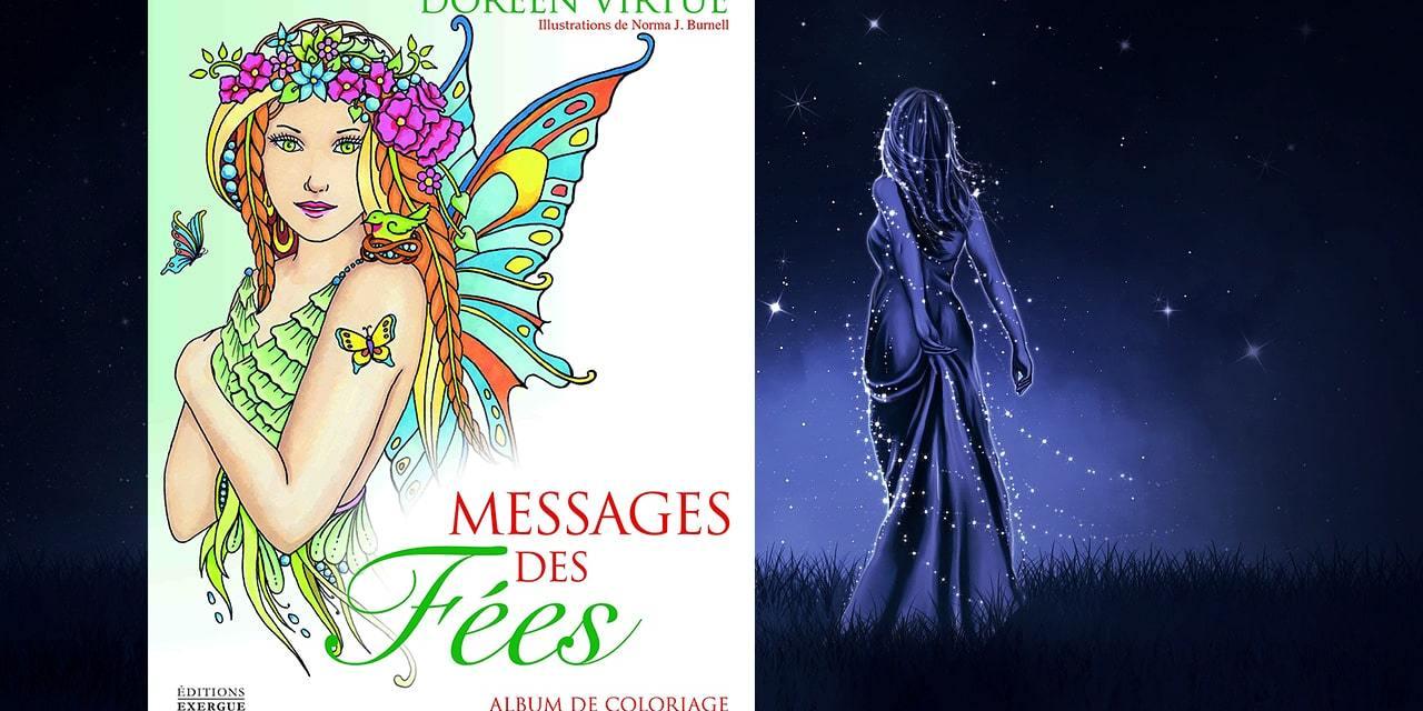 Messages des fées – Album de coloriage par Doreen Virtue