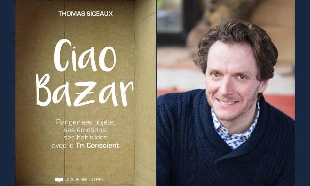 Interview exclusive de Thomas Siceaux, auteur de «Ciao Bazar»