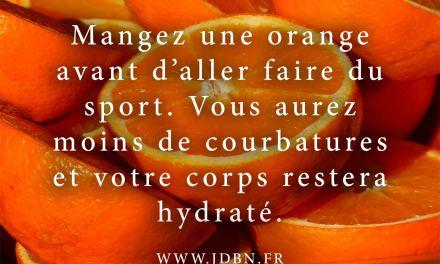 Mangez une orange…