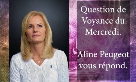 RÉPONSE D' ALINE PEUGEOT À LA QUESTION DE VOYANCE GRATUITE DU 7 Février 2018. GAGNANTE: Laurence