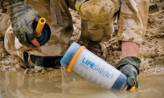 Lifesaver bottle, la bouteille qui sauve des vies grâce à un ingénieux filtre