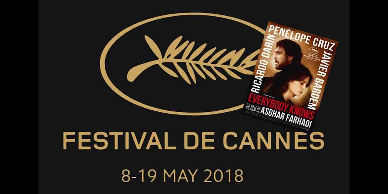 Découvrez la bande-annonce du film d'ouverture du Festival de Cannes 2018: Everybody Knows, le nouveau thriller d'Asghar Farhadi avec Penelope Cruz, Javier Bardem