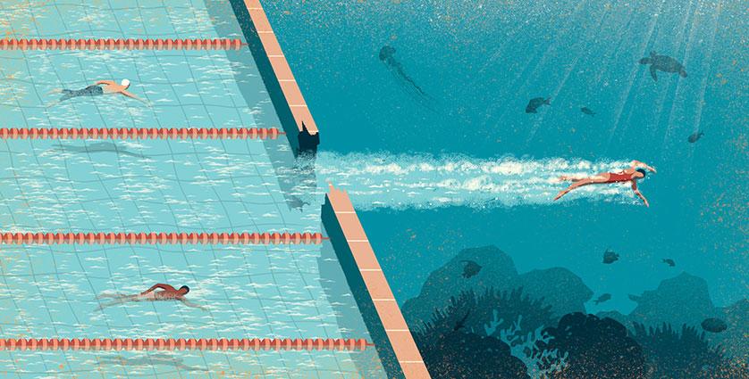 L' illustrateur Davide Bonazzi pointe du doigt les dérives de notre société à travers des dessins satiriques. On adore.