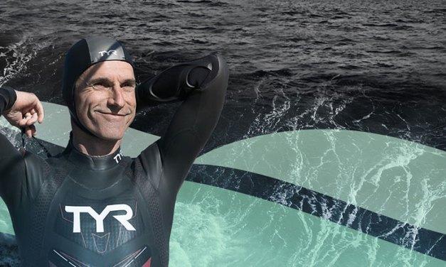 Pour alerter sur la pollution, Benoît Lecomte veut traverser le Pacifique à la nage !