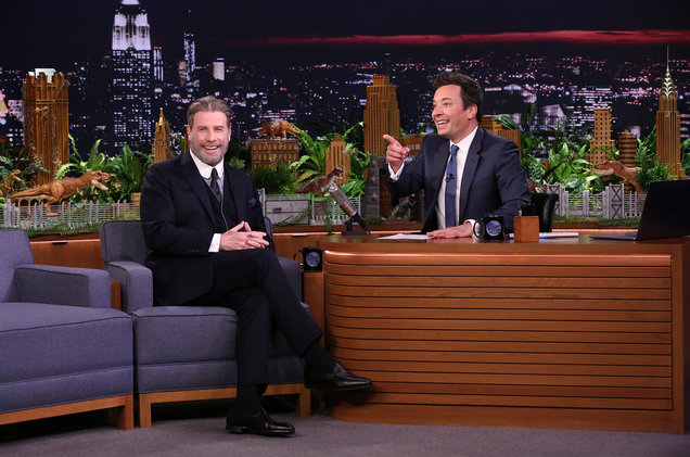 John Travolta vous enseigne le déhanché de Grease – Tonight Show Jimmy Fallon