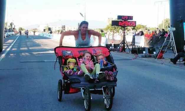 Running. Le record insolite d'une maman et ses trois enfants