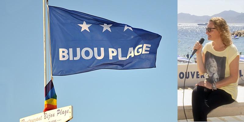 Bijou Plage – Rencontre exclusive avec une battante qui lutte pour qu'on ne ferme pas sa plage mythique à Cannes.