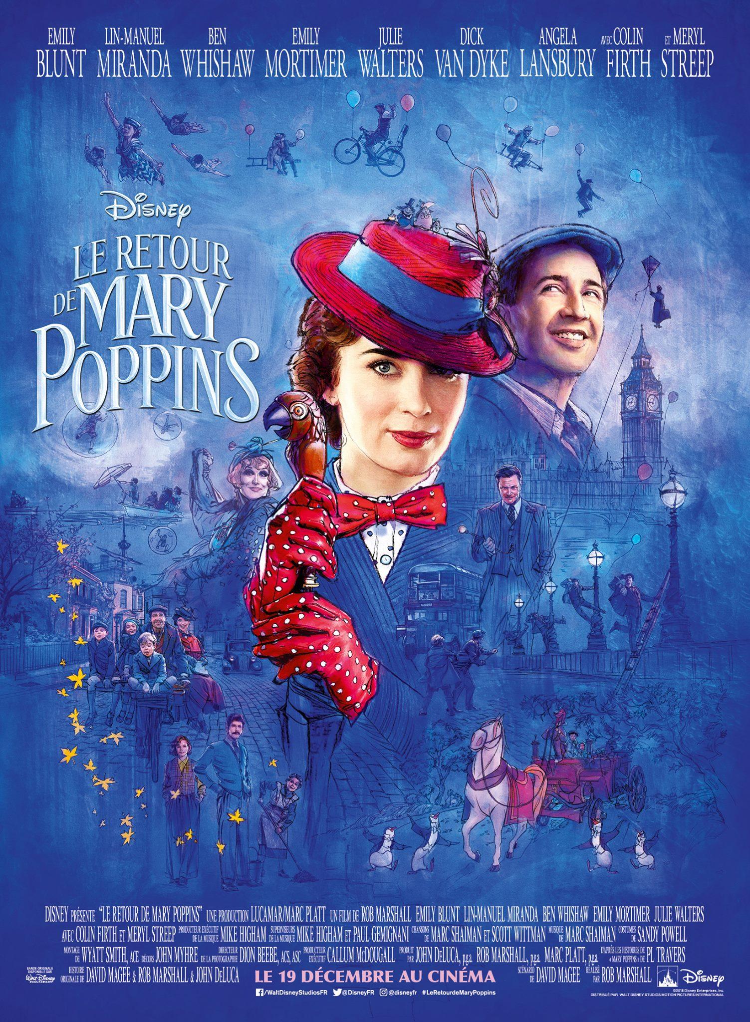 Le Retour de Mary Poppins, dès le 19 décembre au cinéma!