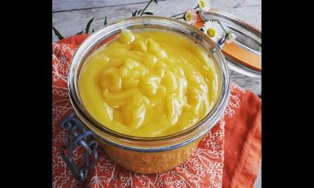 Lemon Curd végétalien