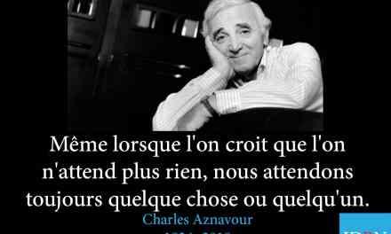 Charles Aznavour – 1924 – 2018