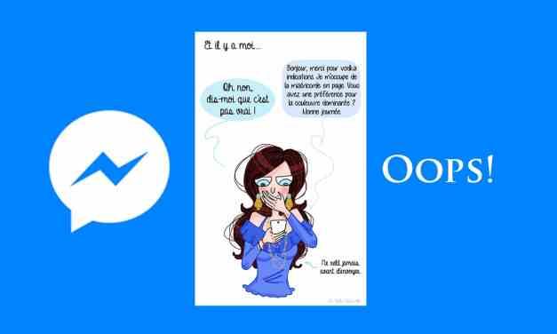 Facebook: Vous aurez bientôt 10 minutes pour effacer un message envoyé sur Messenger. Ça va sauver beaucoup de couples ça!