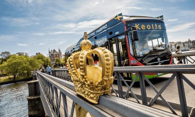 En Suède, ces bus roulent grâce aux eaux usées