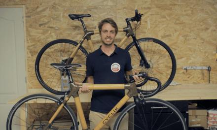Félix Hebert réinvente le vélo écologique en bambou et made in France