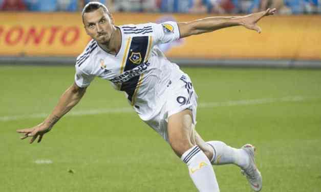Zlatan Ibrahimovic élu meilleur «débutant» de la saison aux États-Unis