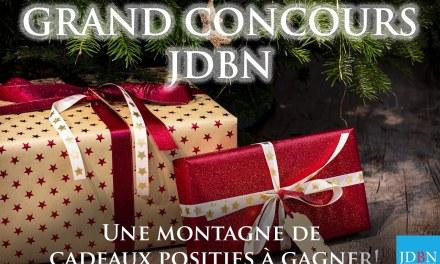 JEU CONCOURS INTERACTIF JDBN avec des cadeaux EXCEPTIONNELS!