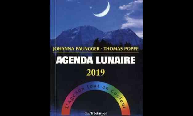 Agenda lunaire 2019