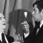 Quand Louis de Funès recevait un César d'honneur des mains de Jerry Lewis.