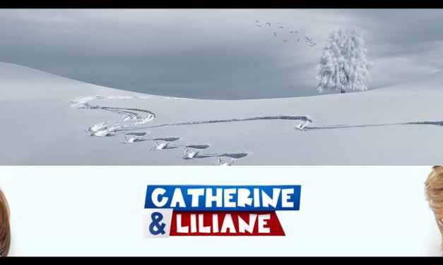 Catherine et Liliane:  Au ski, c'est important d'avoir une bonne descente !