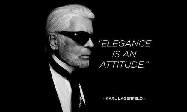 Karl Lagerfeld s'en est allé. Hommage. Ses plus belles citations.