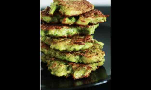 Galettes de brocoli au parmesan