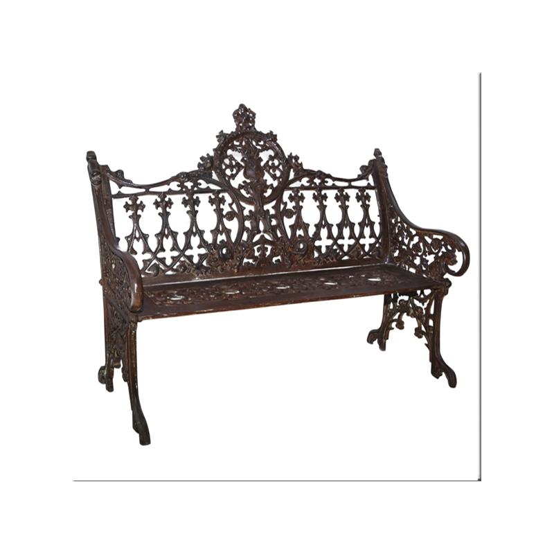 cast iron english garden bench 2 seats