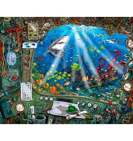 Puzzle 759 – ESCAPE – En el Submarino