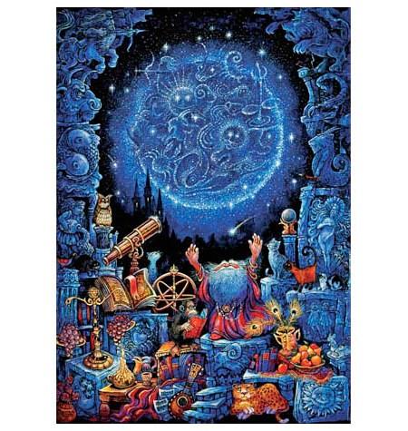 Puzzle 1000 – FLUORESCENTE – El Astrólogo – Educa