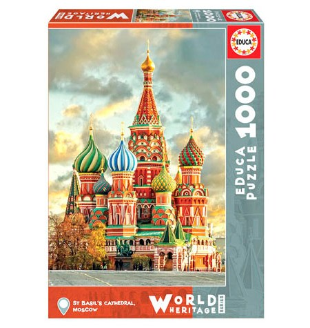Puzzle 1000 St Basil´s Cathedral – Educa