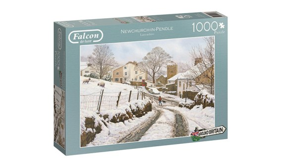 Puzzle 1000 Newchurch in Pendle