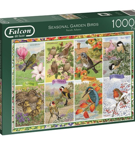 Puzzle 1000 Seasonal Garden Birds