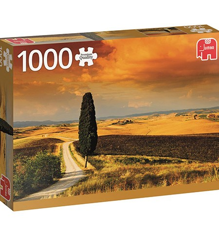 Puzzle 1000 Tuscan Sunset, Italy