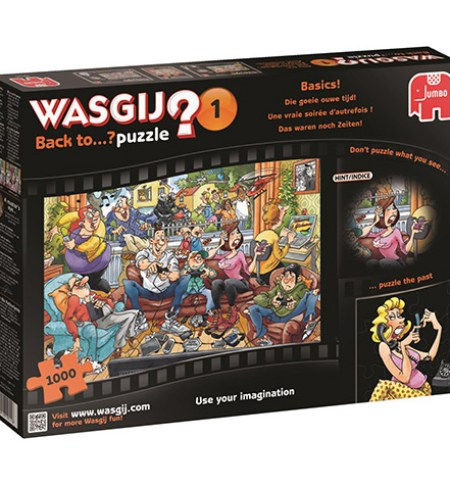 Puzzle 1000 WASGIJ BACK TO #1 – Basics!