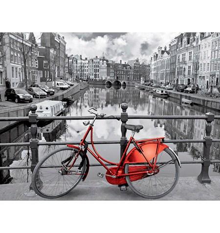 Puzzle 3000 B/N Ámsterdam – Educa