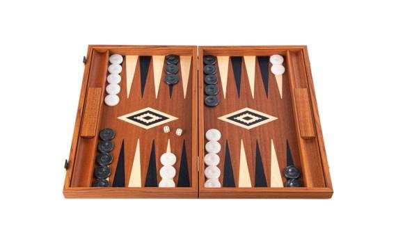 Backgammon Grande Madera CAOBA